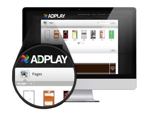 Adplay Digital reklame skilt og skjerm