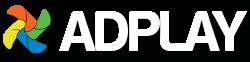 Adplay logo digital reklame skilt og skjerm
